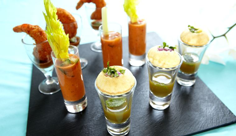 Shot Glass Canapes