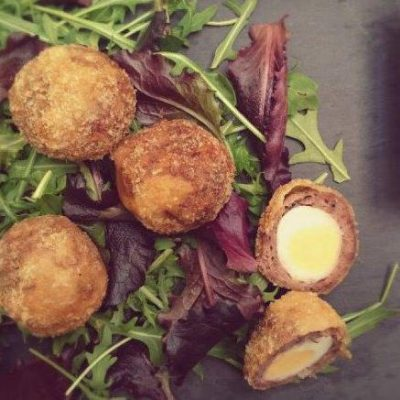 Mini Venison Scotch Egg