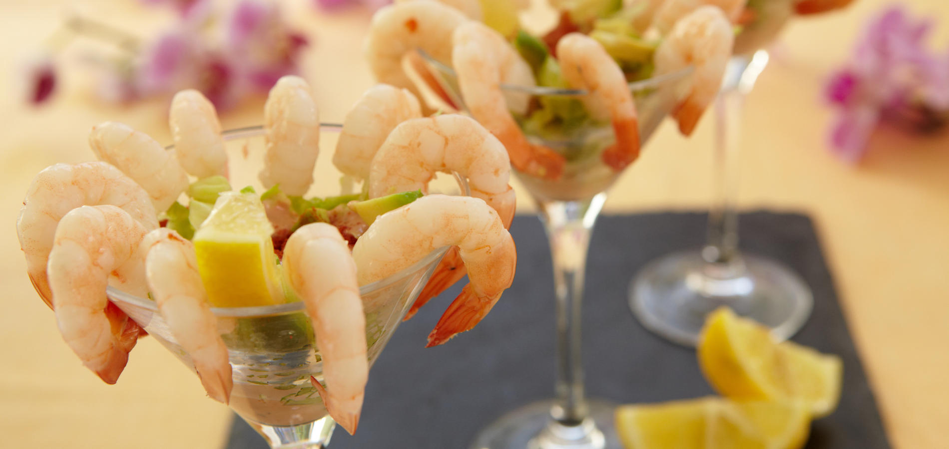 Prawn cocktail – contemporary style