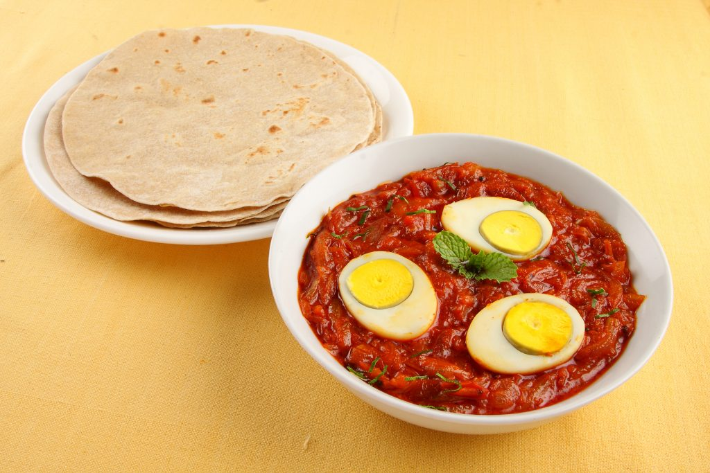 Chapati_with_egg_roast